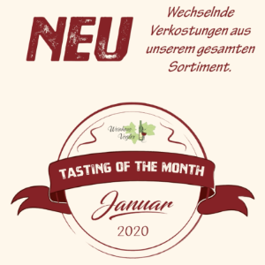 Tasting Of The Month