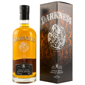 Whisky des Monats Oktober 2019 – Darkness 8 Jahre - Sherry Cask Finish